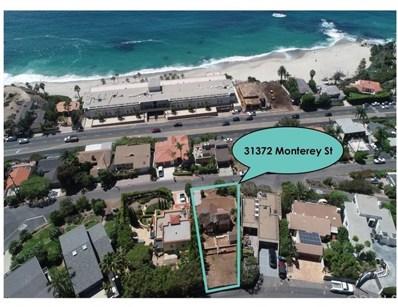 31372 Monterey Street, Laguna Beach, CA 92651 - MLS#: OC18226059