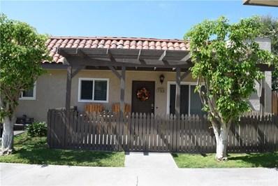 733 S Hayward Street UNIT 1, Anaheim, CA 92804 - MLS#: OC18232996