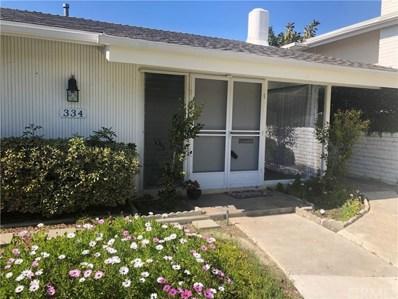 334 Camino San Clemente, San Clemente, CA 92672 - MLS#: OC18234191