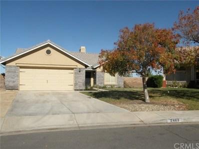 2463 Desert Oak Drive, Palmdale, CA 93550 - MLS#: OC18238993