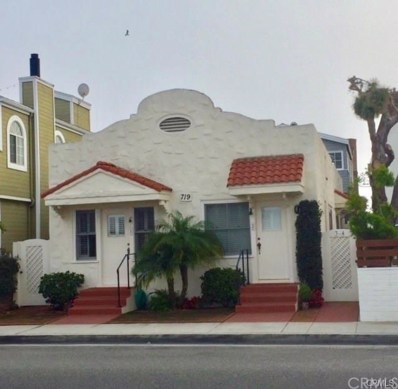 719 W Balboa Boulevard, Newport Beach, CA 92661 - MLS#: OC18241995