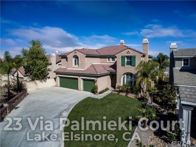 23 Via Palmieki Court, Lake Elsinore, CA 92532 - MLS#: OC18252913