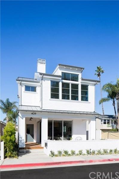 409 39th Street, Newport Beach, CA 92663 - MLS#: OC18266872