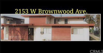2153 W Brownwood Avenue, Anaheim, CA 92801 - MLS#: OC18280580