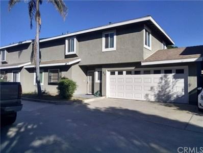 552 Hamilton Street UNIT B1, Costa Mesa, CA 92627 - MLS#: OC18292177