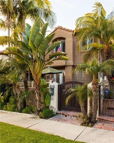 615 22nd Street, Huntington Beach, CA 92648 - MLS#: OC19003558