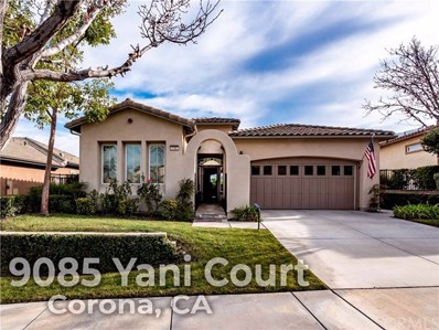 9085 Yani Court, Corona, CA 92883 - MLS#: OC19010831