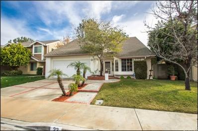 22 Windflower, Aliso Viejo, CA 92656 - MLS#: OC19011462
