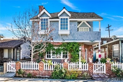 110 Marine Avenue, Newport Beach, CA 92662 - MLS#: OC19016497
