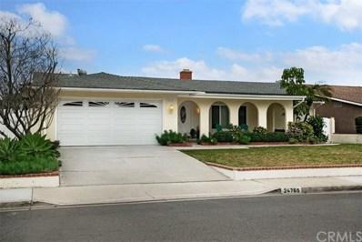 24765 San Andres Lane, Mission Viejo, CA 92691 - MLS#: OC19027513