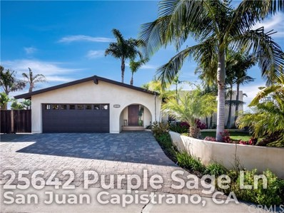 25642 Purple Sage Lane, San Juan Capistrano, CA 92675 - MLS#: OC19037221