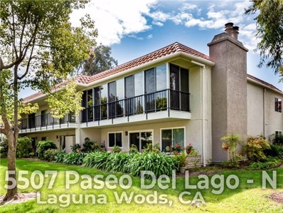 5507 Paseo Del Lago W UNIT N, Laguna Woods, CA 92637 - MLS#: OC19039445