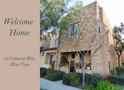 34 Colonial Way, Aliso Viejo, CA 92656 - #: OC19043455