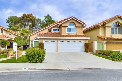 33 Sand Oaks Road, Laguna Niguel, CA 92677 - MLS#: OC19047369