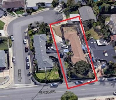 217 E 21 Street, Costa Mesa, CA 92627 - MLS#: OC19050781