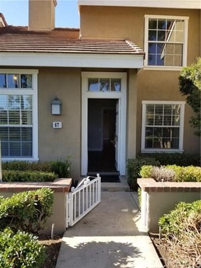 67 Dartmouth UNIT 64, Irvine, CA 92612 - MLS#: OC19059717