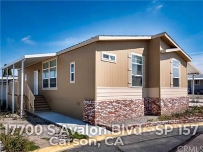 17700 S Avalon Boulevard UNIT 157, Carson, CA 90746 - MLS#: OC19063001