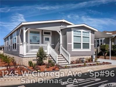 1245 W Cienega Avenue UNIT 96, San Dimas, CA 91773 - MLS#: OC19063004