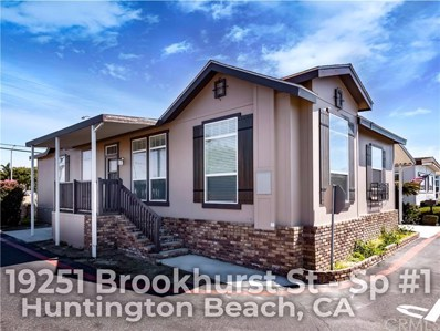 19251 Brookhur Street UNIT 1, Huntington Beach, CA 92646 - MLS#: OC19063018