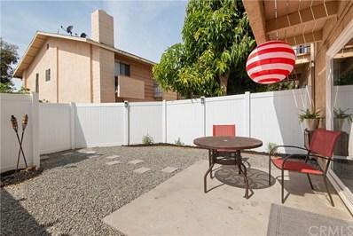 1192 Mitchell Avenue UNIT 58, Tustin, CA 92780 - MLS#: OC19063437