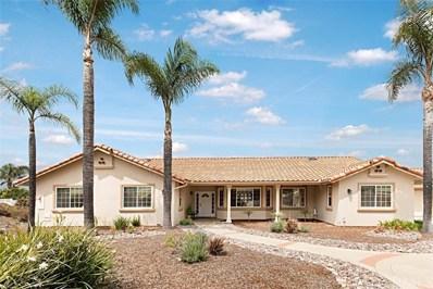 1988 Quiet Ranch Road, Fallbrook, CA 92028 - MLS#: OC19074125
