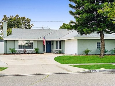235 S Elder Street, Anaheim, CA 92805 - MLS#: OC19074884