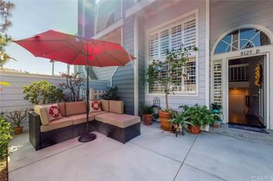 8125 Islandview Circle UNIT D, Huntington Beach, CA 92646 - MLS#: OC19082657