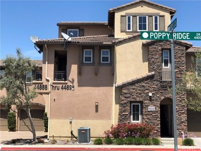 44892 Poppy Ridge Drive UNIT 56, Temecula, CA 92592 - MLS#: OC19110088