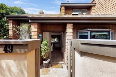 49 Canyon Island Drive UNIT 49, Newport Beach, CA 92660 - MLS#: OC19125846