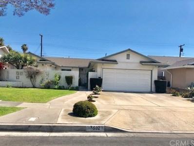 5502 W Davit Avenue, Santa Ana, CA 92704 - MLS#: OC19126060