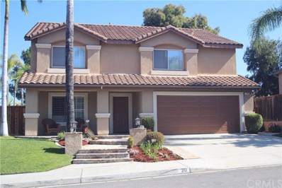 20 Via Arribo, Rancho Santa Margarita, CA 92688 - MLS#: OC19157017