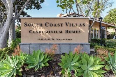 1001 W Macarthur Boulevard UNIT 139, Santa Ana, CA 92707 - MLS#: OC19160179