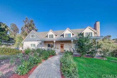 470 S Via Vista Road, Anaheim Hills, CA 92808 - #: OC19163235