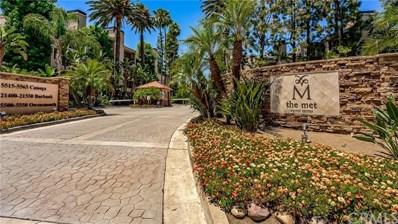 21450 Burbank Boulevard UNIT 105, Woodland Hills, CA 91367 - MLS#: OC19167866