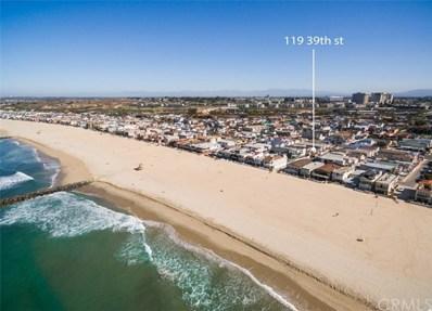 119 39th Street, Newport Beach, CA 92663 - MLS#: OC19213995