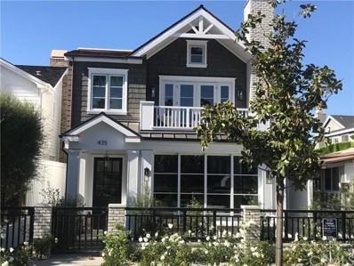 435 Fernleaf Avenue, Corona del Mar, CA 92625 - MLS#: OC19249484