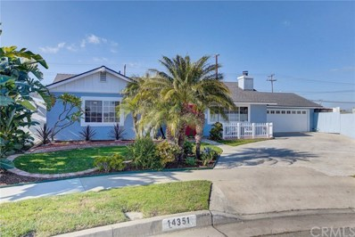14351 Chateau Lane, Huntington Beach, CA 92647 - MLS#: OC19251952