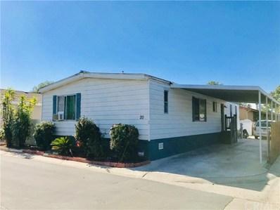 320 N Park Vista Street UNIT 20, Anaheim, CA 92806 - MLS#: OC19257651