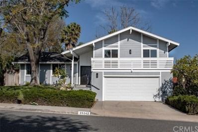 25242 Posada Lane, Mission Viejo, CA 92691 - MLS#: OC20039696
