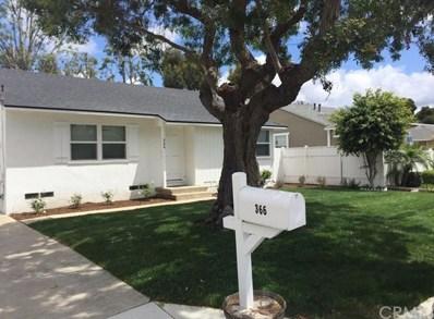 366 Ralcam Place, Costa Mesa, CA 92627 - MLS#: OC20048535
