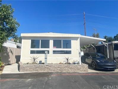 5803 Mission Boulevard UNIT 74, Riverside, CA 92509 - MLS#: OC20116323