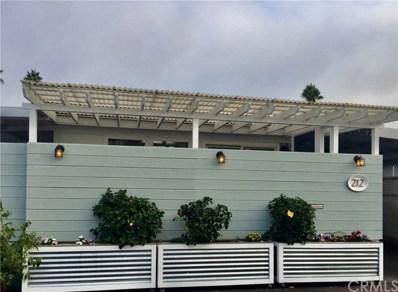 212 Tremont Dr, Newport Beach, CA 92660 - MLS#: OC20208553