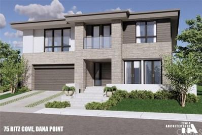 75 Ritz Cove Drive, Dana Point, CA 92629 - MLS#: OC20224566