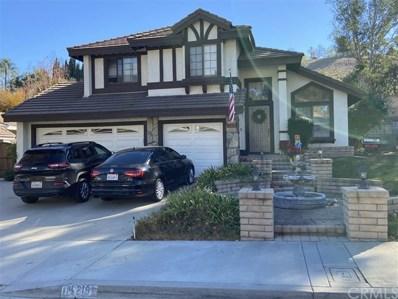 15219 Green Valley Drive, Chino Hills, CA 91709 - MLS#: OC20255276