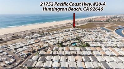 21752 Pacific Coast Hwy. UNIT 20-A, Huntington Beach, CA 92646 - MLS#: OC21062483