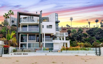 270 Palisades Beach Road UNIT 101, Santa Monica, CA 90402 - MLS#: P1-2811