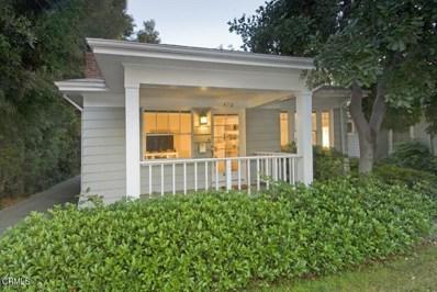 470 W California Boulevard, Pasadena, CA 91105 - MLS#: P1-4061