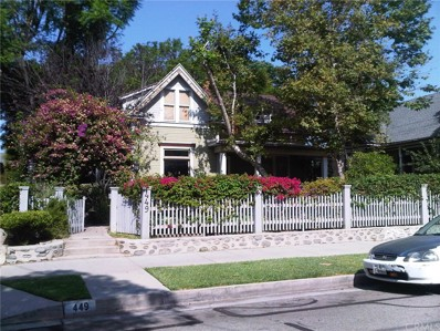 449 N Summit Avenue, Pasadena, CA 91103 - MLS#: PF17253036
