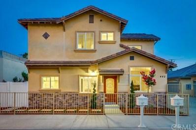 442 W Chestnut Avenue, Monrovia, CA 91016 - MLS#: PF18195298