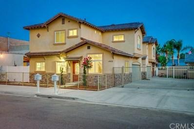 444 W Chestnut Avenue, Monrovia, CA 91016 - MLS#: PF18195319